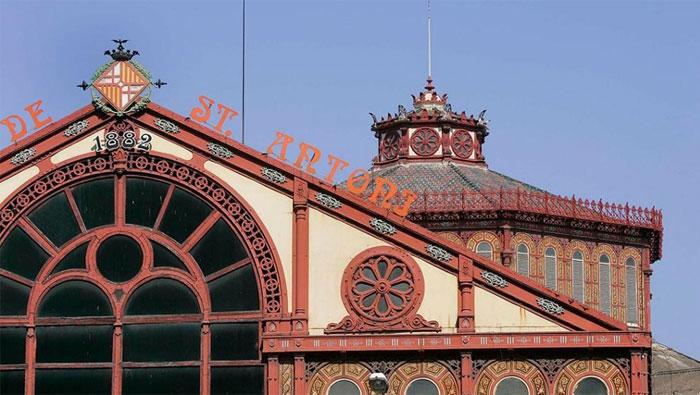 Mercat de Sant Antoni inaguración